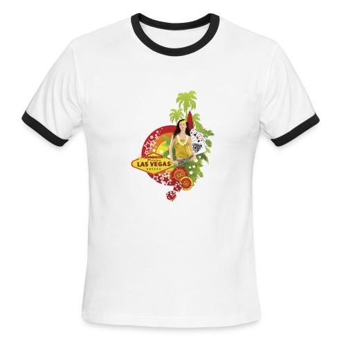 Vegas Baby - Men's Ringer T-Shirt