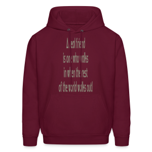 A Real Friend is.... - Men's Hoodie