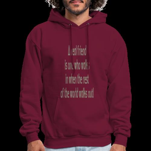 A Real Friend is.... - Men's Hoodie
