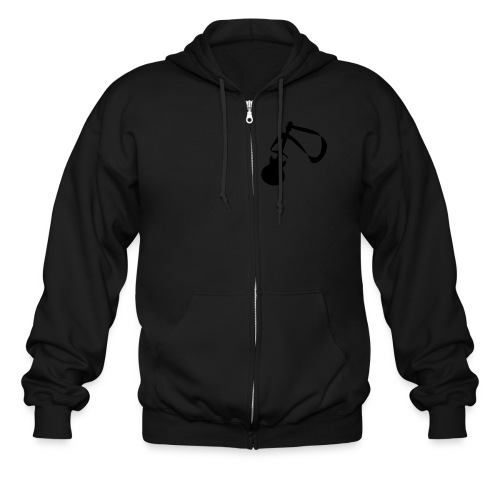 Men's hoodie with guitar symbol - Men's Zip Hoodie