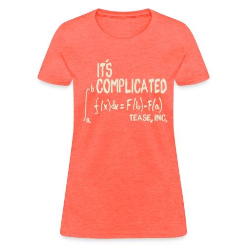 It's Complicated - Women's Bargain - Women's T-Shirt