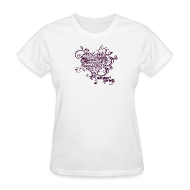 T-Shirts ~ Women's T-Shirt ~ Paper Heart T-Shirt