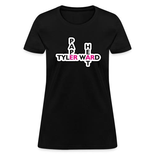 Paper Heart Fan T-Shirt - Women's T-Shirt