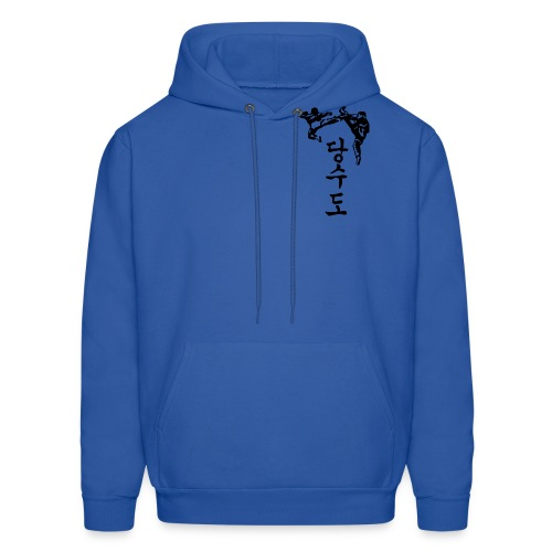 hungul kickers w/ tiger on back - Men's Hoodie