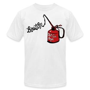Boston Oil Can Boyd Men's American Apparel Tee - Men's Fine Jersey T-Shirt