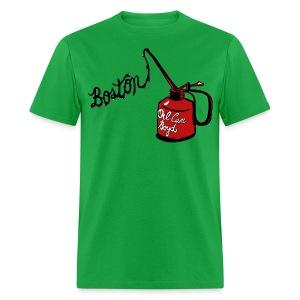 Boston Oil Can Boyd Men's Standard Weight T-Shirt - Men's T-Shirt