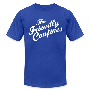 Friendly Confines Men's American Apparel Tee - Men's T-Shirt by American Apparel