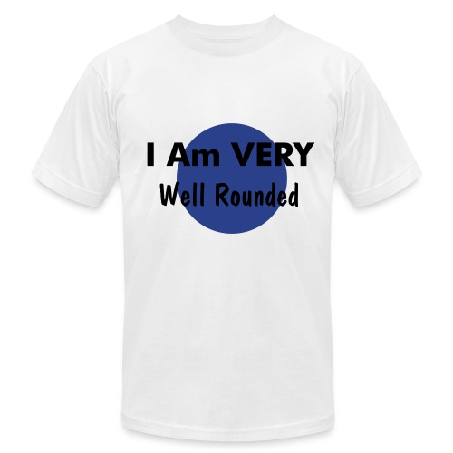 Well-Rounded Men's Tee - Men's Fine Jersey T-Shirt