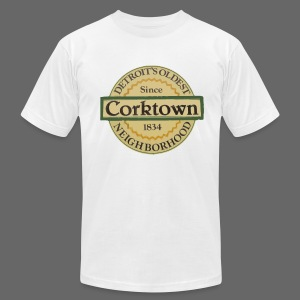 Corktown Men's American Apparel Tee - Men's T-Shirt by American Apparel
