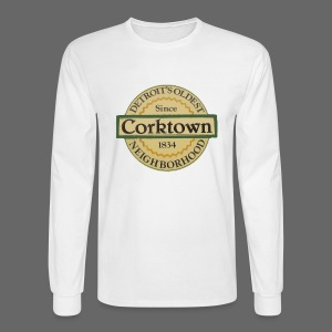 Corktown Men's Long Sleeve Tee - Men's Long Sleeve T-Shirt