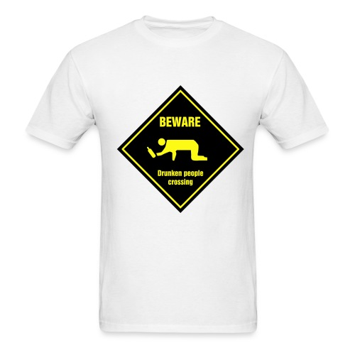 drunkin people - Men's T-Shirt