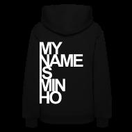 Hoodies ~ Women's Hoodie ~ [SHINee] My Name is Minho