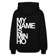 Hoodies ~ Women's Hoodie ~ [SHINee] My Name is Minho