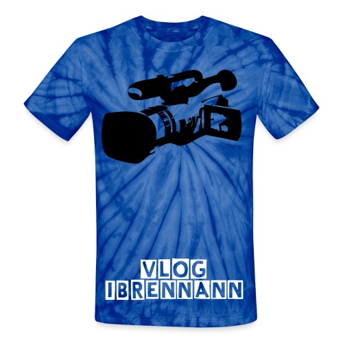 Vlogging In Progress - Unisex Tie Dye T-Shirt