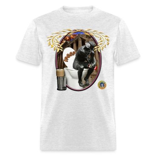 IPoop Thinker - Men's T-Shirt