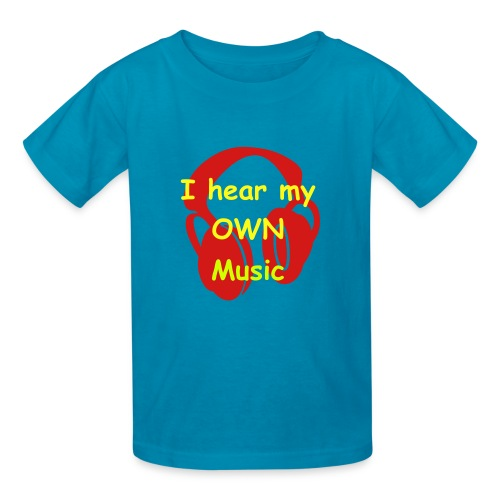 I Hear My OWN Music- Children's Tee - Kids' T-Shirt