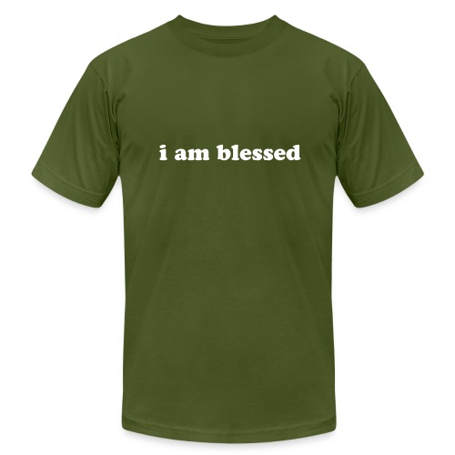 i am blessed- Men's Jersey Tee - Men's Fine Jersey T-Shirt