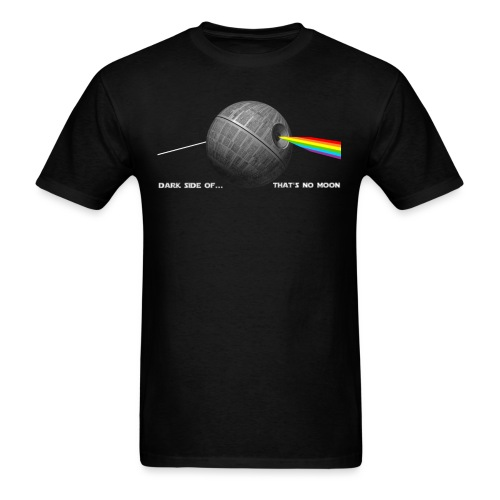 Dark Side of... That's No Moon - Men's T-Shirt