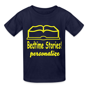 bedtime stories personalize - Kids' T-Shirt