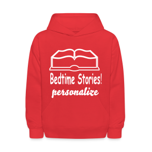 bedtime stories personalize - Kids' Hoodie