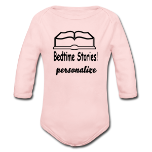 bedtime stories personalize - Long Sleeve Baby Bodysuit