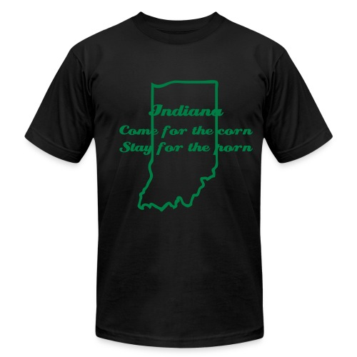 Indiana is for Pervs - Men's Fine Jersey T-Shirt