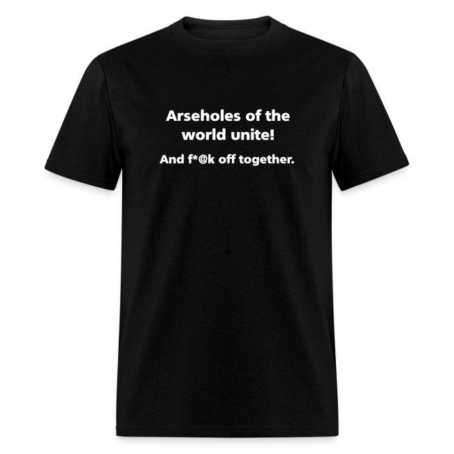 MENS SIMPLE: Assholes unite!