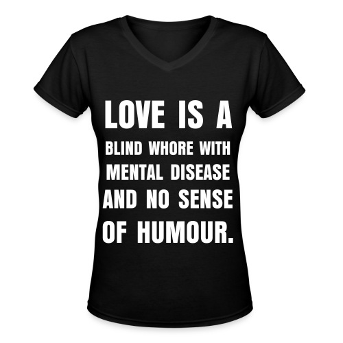 Love... (women) - Women's V-Neck T-Shirt
