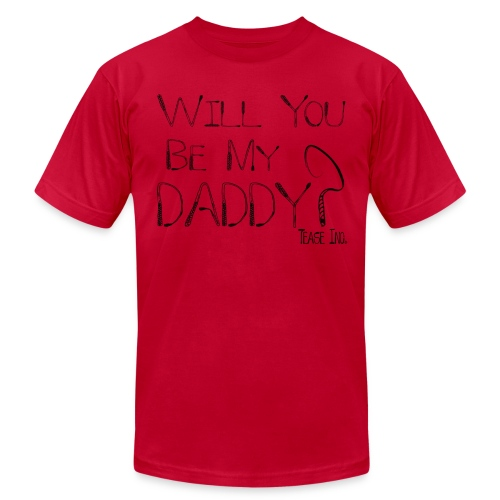 Will You Be My Daddy: Men's AA Tee - Men's Fine Jersey T-Shirt