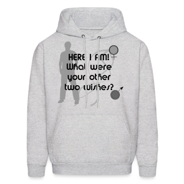 Three Wishes - Male Hoodies