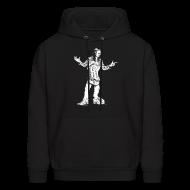 Hoodies ~ Men's Hoodie ~ Dennis Gruenling black hoodie
