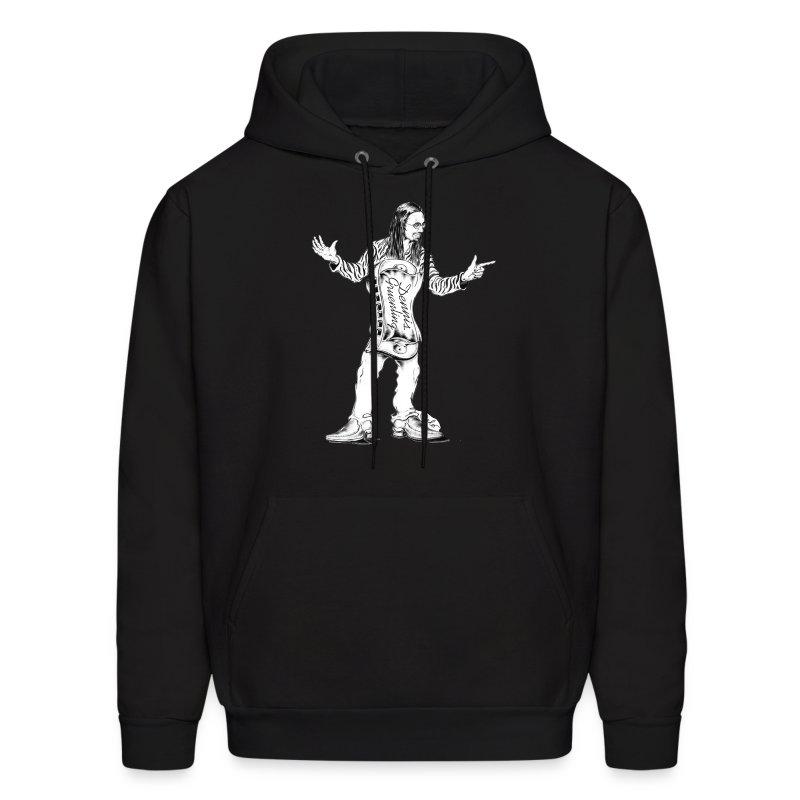 Dennis Gruenling black hoodie - Men's Hoodie