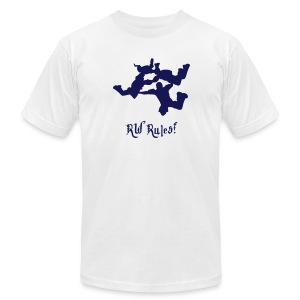 RW Rules! - Men's T-Shirt by American Apparel