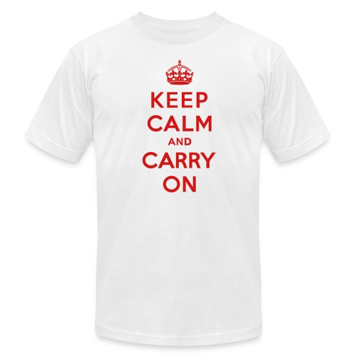 Keep Calm and Carry On Mens T-Shirt - Men's  Jersey T-Shirt