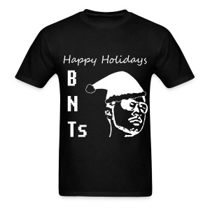 BNTs HAPPY HOLIDAYS WHITE MEN'S - Men's T-Shirt