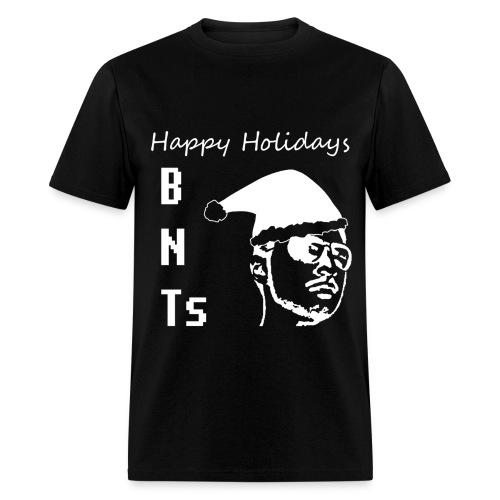 BNTs HAPPY HOLIDAYS WHITE MEN'S - Men's T-Shirt
