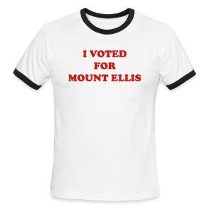 Mount Ellis Ringer Mens - Men's Ringer T-Shirt