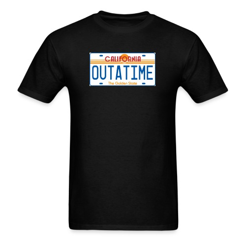 OUTATIME Tag - Men's T-Shirt