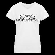 Women's T-Shirts ~ Women's V-Neck T-Shirt ~ Article 6793228
