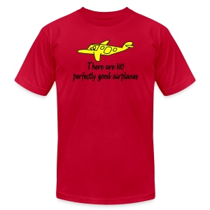 No Perfectly Good Airplanes - Men's T-Shirt by American Apparel