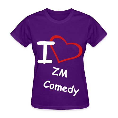 I Heart ZM Comedy - Women - Color - Women's T-Shirt