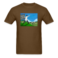 T-Shirts ~ Men's T-Shirt ~ Chalkboard On A Hill (Men's)