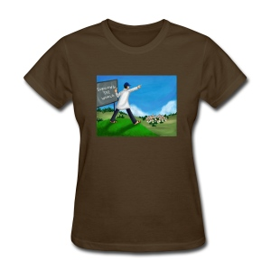 Chalkboard On A Hill (Women's) - Women's T-Shirt