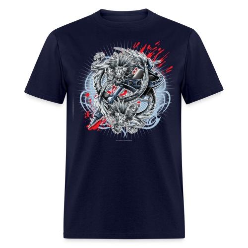 S-121 Dragon Tattoo Men's Tee - Men's T-Shirt