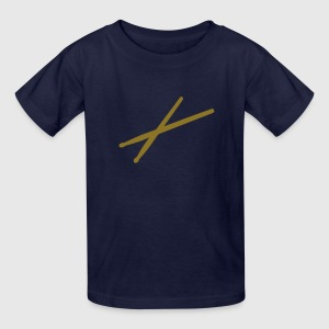 Drums - drumsticks Kids' Shirts - Kids' T-Shirt
