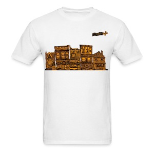 Pittsburgh Houses T-Shirts - Men's T-Shirt
