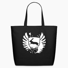 Glam Rabbit bunny bunnies hare glam rock sign Bags