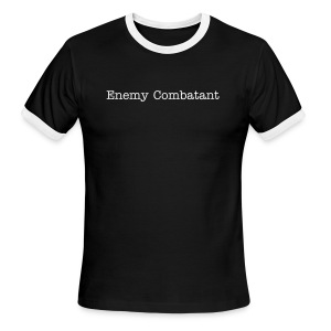Enemy Combatant - Men's Ringer T-Shirt