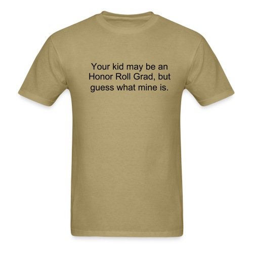 Marines vs. Honor Grads - Men's T-Shirt