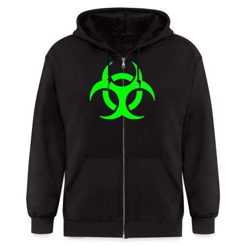 Nuclear Waste - Men's Zip Hoodie